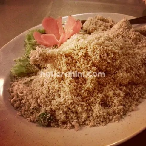 Fried prawn with nestum-horizon garden bangi
