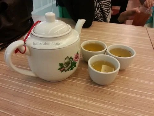 Homst Recipe-A Pot of Chinese Tea