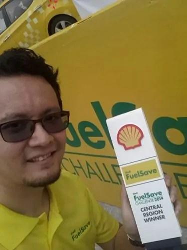 Winner Shell FuelSave Challenge 2014 Central region