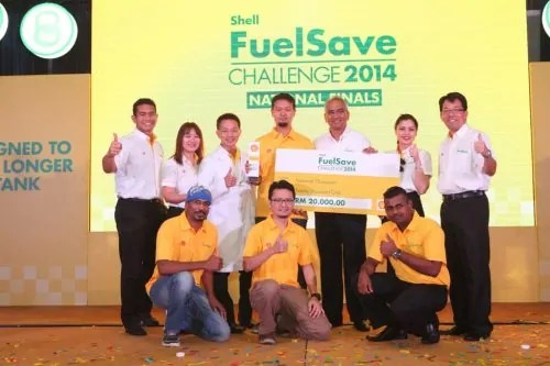 Shell FuelSave Challenge 2014 final contestant