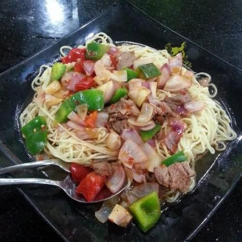 Wet Mee with Onion & Meat, harganya cuma RM