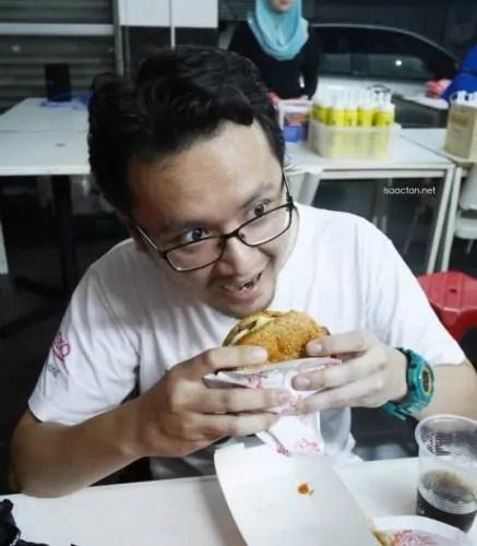 Hafiz Rahim Burger Bakar RM5
