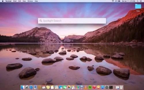 Spotlight Search Macbook