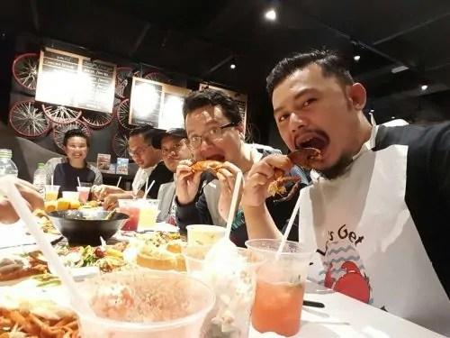 Makan ketam_Lobster_di Cyberjaya