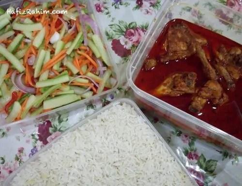 Nasi Dagang Ayam