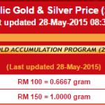 Step membeli emas melalui GAP Account Public Gold