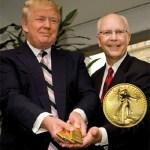 Donald Trump terima bayaran sewa hartanah dengan jongkong emas!