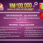 PG Mall – Belanja RM30 dan menangi hadiah mingguan