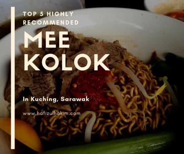 Mee Kolok paling sedap di Sarawak!