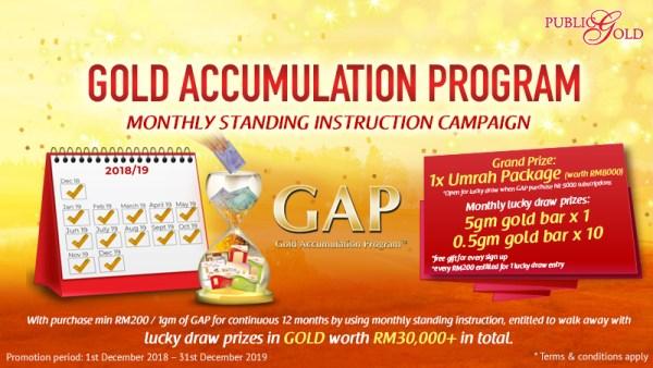 Akaun GAP: Langkah-langkah buat Standing Instruction (SI) dari akaun bank