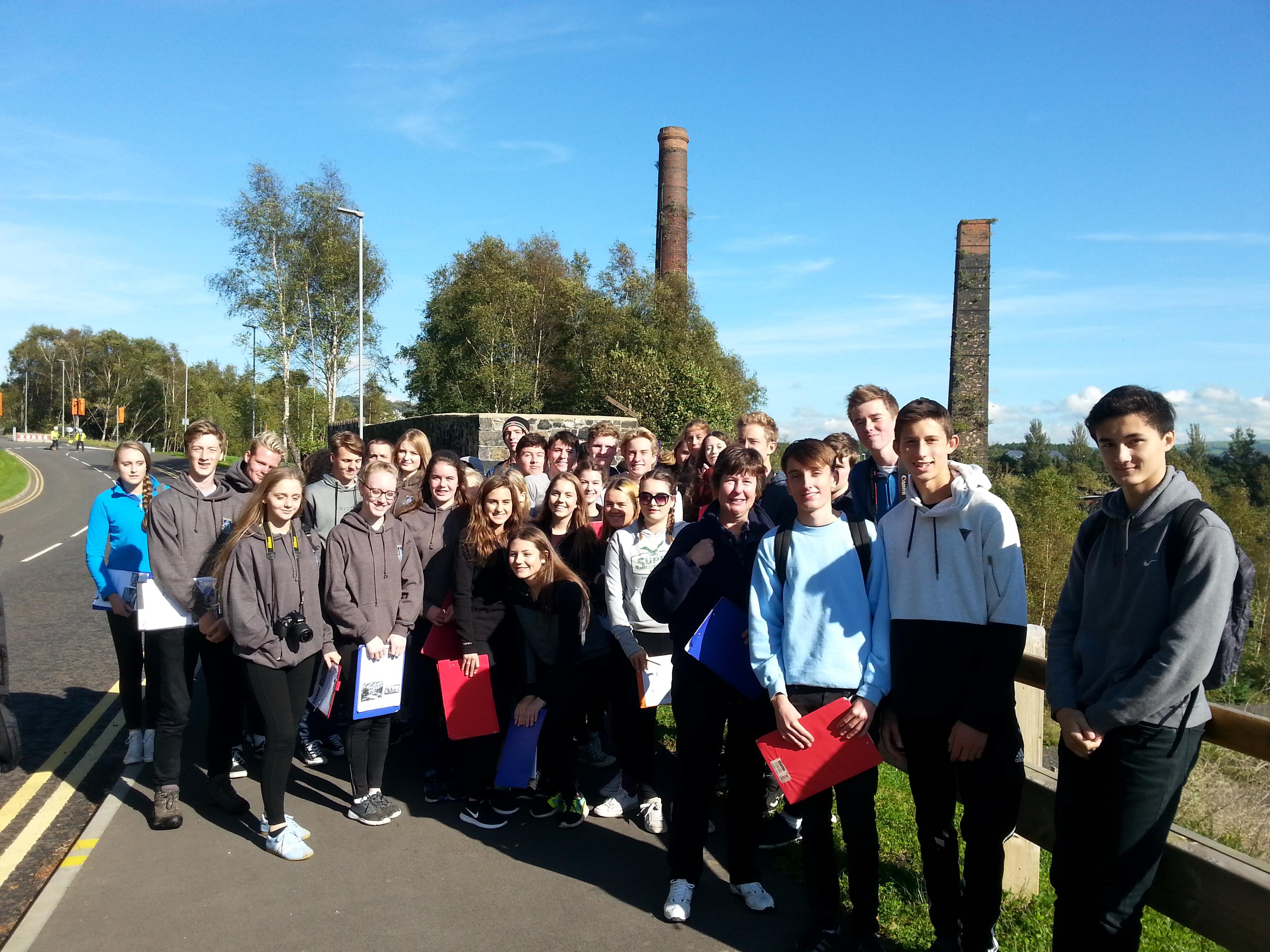 Surrey Students Visit