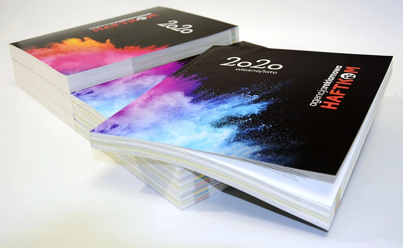 Okładki katalogów 2020