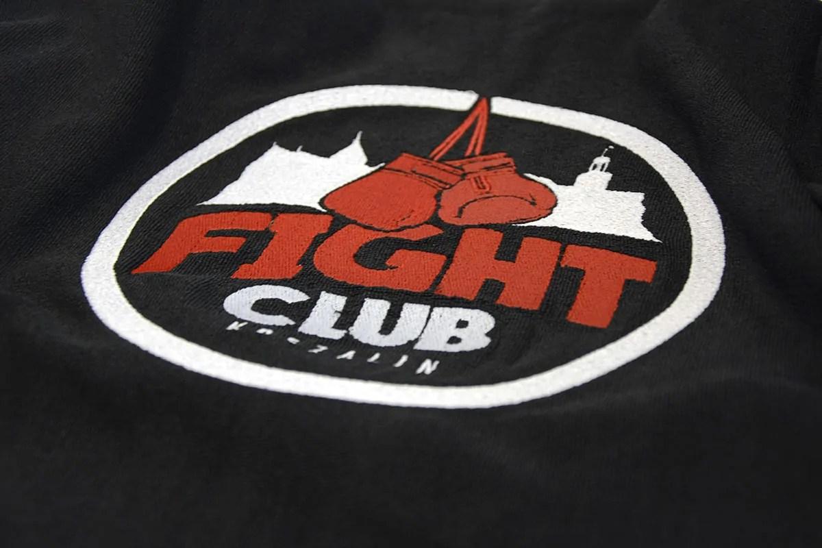 Ręcznik haftowany Fight Club Koszalin
