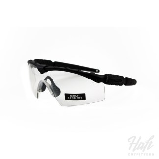 Oakley SI Ballistic M Frame 2.0 Strike Array - Black Frame - 0N + 3N Clear + Grey Lens - SKU: 11-138
