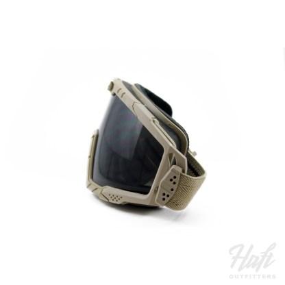 Oakley SI Ballistic Goggle 2.0 - Dark Sand Frame - 3N Grey Lens - SKU: OO7035-06