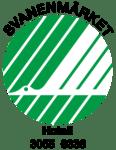 Svanen logotype (Hotell 3055 0336).