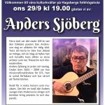 Affisch Anders Sjöberg tumnagel