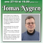 Affisch Tomas Nygren tumnagel