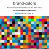 『brand-colors』 で企業のイメージカラー(カラーコード)を抽出してみよう