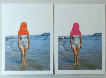 Embroidery on paper, Embroidery Photography - Hagar Vardimon