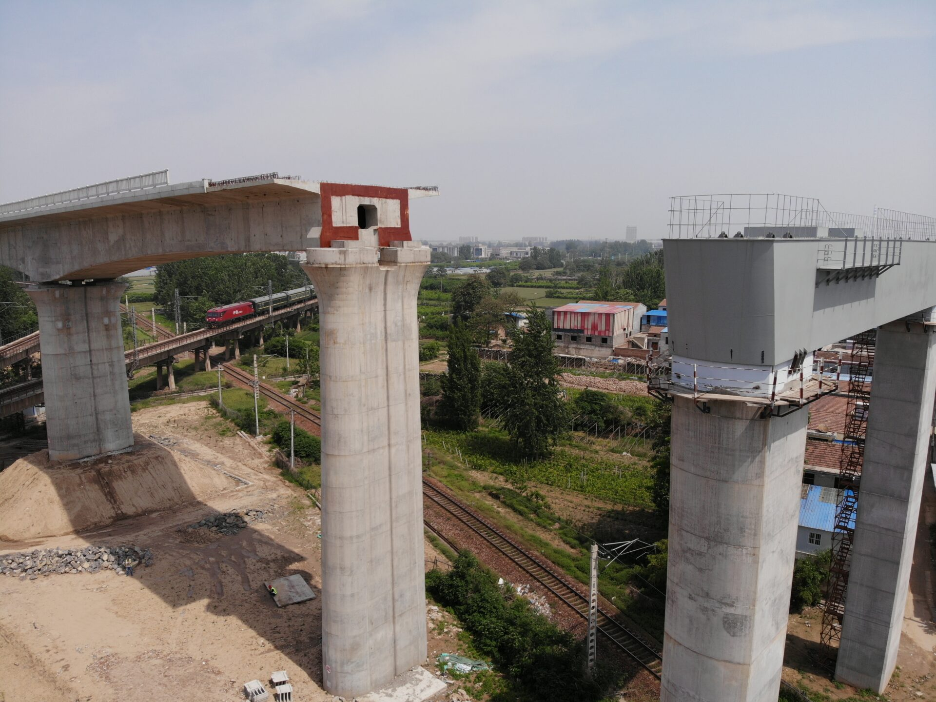 Railway Bridge Construction