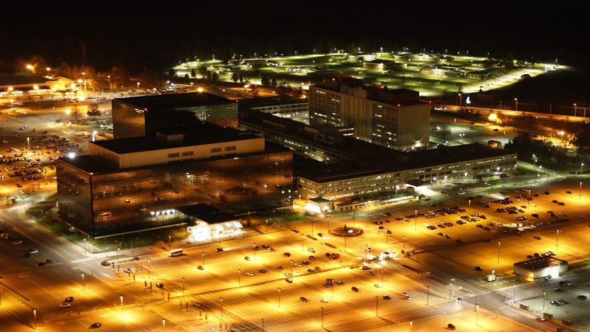National Security Agency, in Fort Meade, Maryland, 2013 CC BY-SA 2.0 via flickr/Trevor Paglen