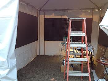 art show set up