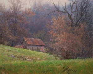 Impressionist landscape oil painting old barn by William Byron Hagerman eBay oil painting