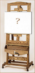 image of a crank easel