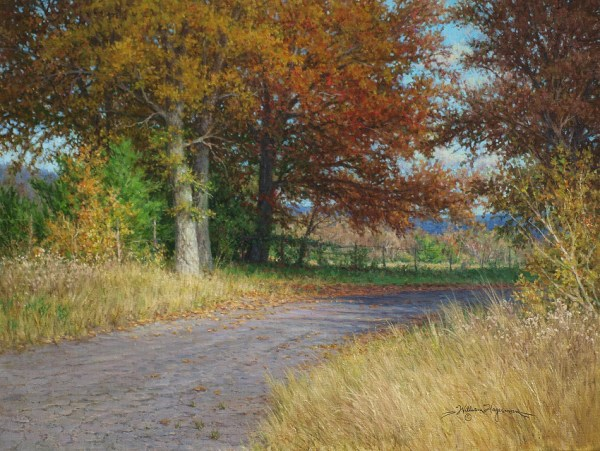 autumn landscape giclee artwork oil painting from william hagerman