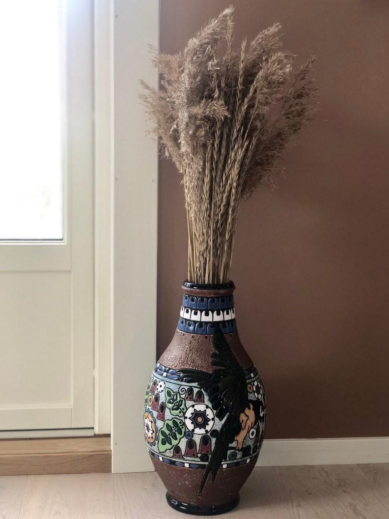 Strå i vase