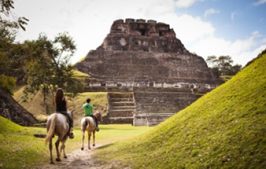 Horseback Riding to Xunantunich-T
