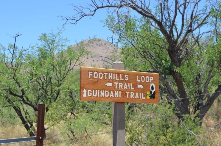 Kartchner State Park Foothills Loop Trail