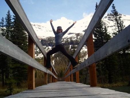 Hiking around Lake Josephine Glacier National Park