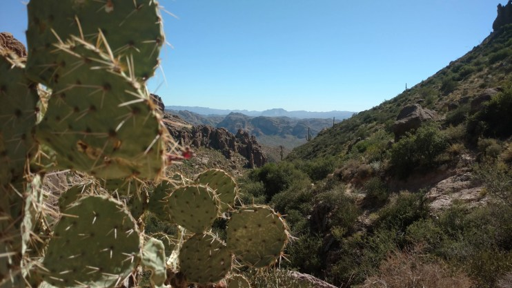 Peralta Trail in the Superstition Mountains - 1 hour east of Phoenix, AZ. Photo by Natalie Murray