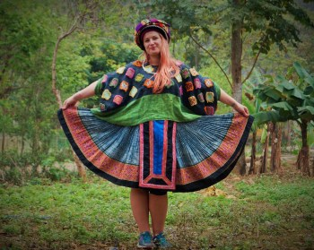 Traditional clothes of Local people