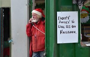 Bob on phone