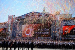 Victory Day parade in Russian regions