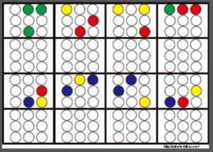 丸シール空間認知3x3_12