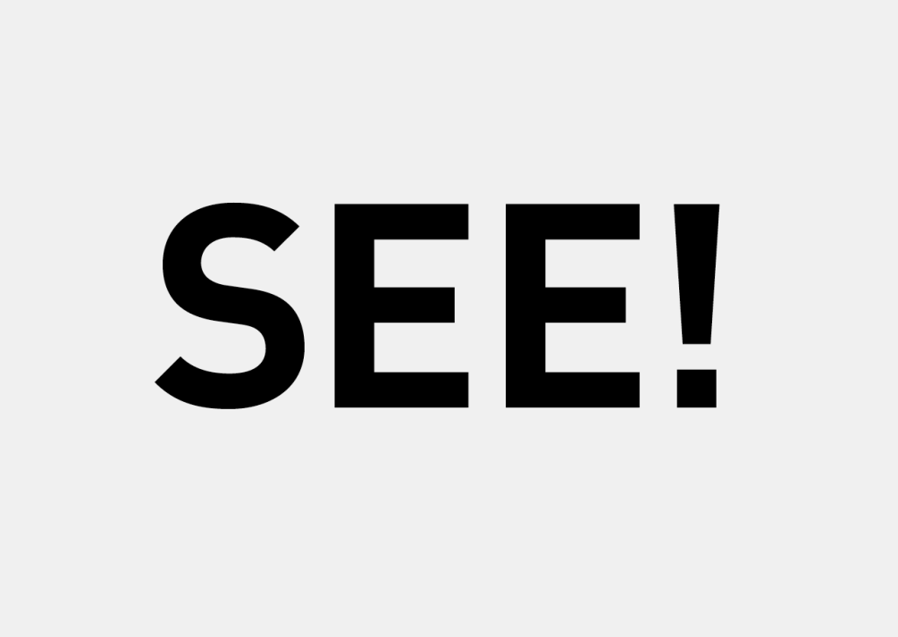 """Die Wortmarke verwendet die Initialen des Unternehmensnamen. Zusammen bilden sie das englische Wort """"see""""."""