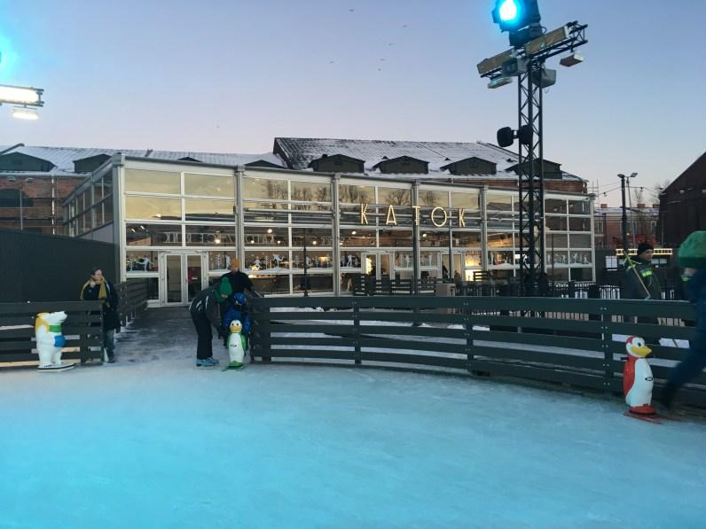 溜冰場場館