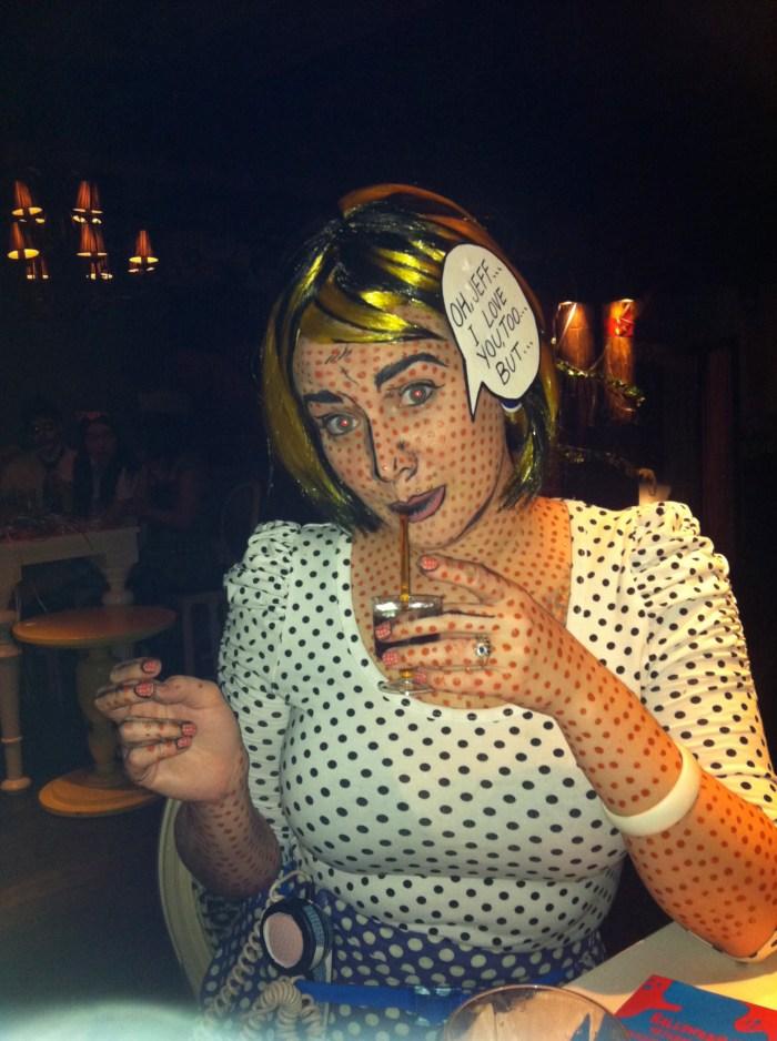 Roy Lichtenstein Halloween Costume.The Roy Lichtenstein Oh Jeff Costume Tutorial Haha Magazine