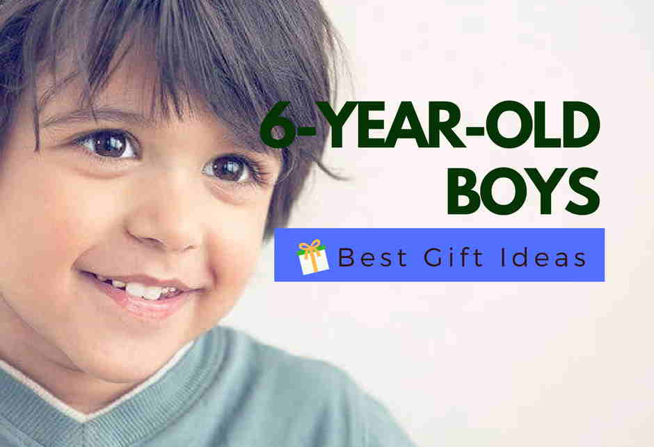 Best Gifts For A 6-Year-Old Boy