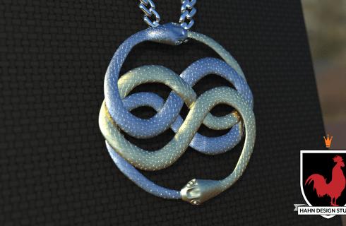 Atreyu wearing Auryn from The NeverEnding Story | 3D Modeling | Hahn Design Studio