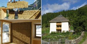 Nachhaltig bauen mit dem Strohhaus
