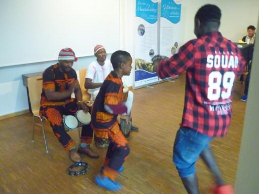 Afrikanische Rhythmen gehen ins Blut