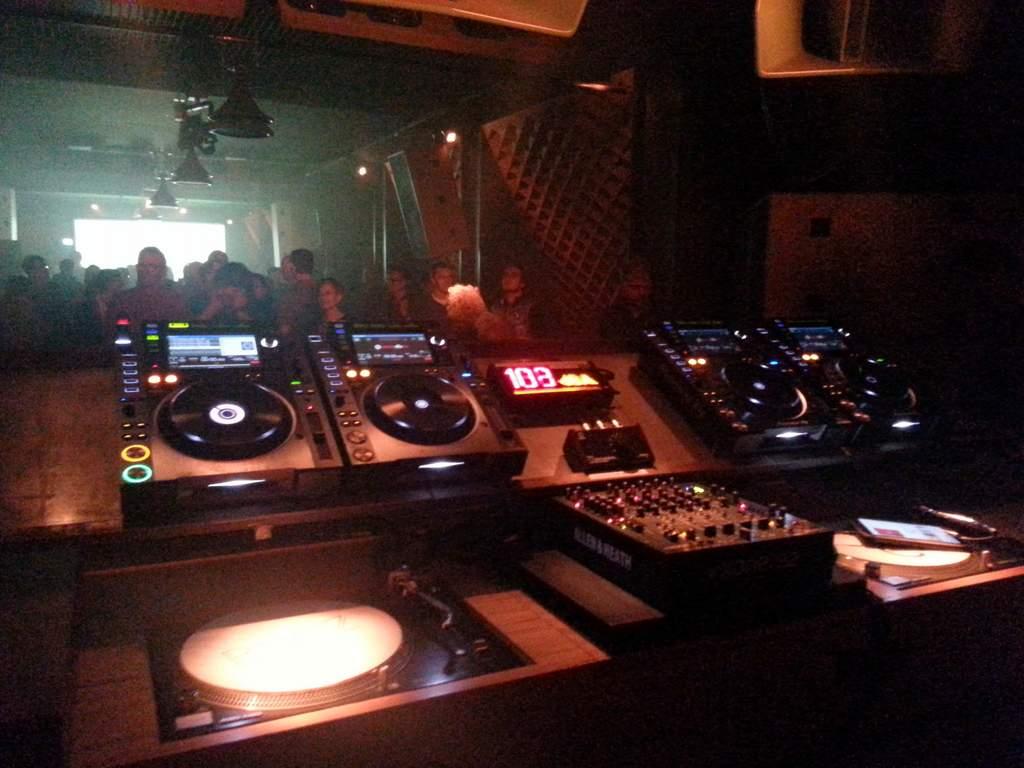 Blitz-Club aus Sicht des DJ