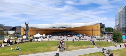 Die neue Zentralbibliothek, das Kulturzentrum Helsinkis!