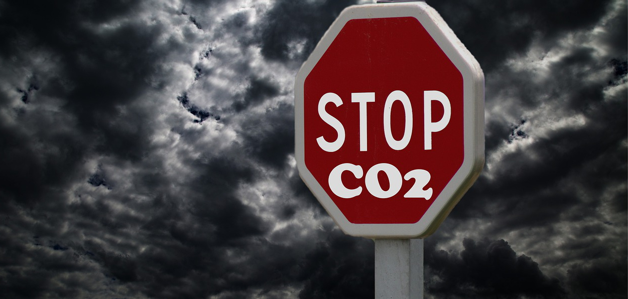 Stop CO2, Image by kalhh from Pixabay