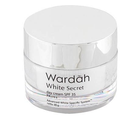 Krim pemutih wajah bagus - Wardah White Secret Day Cream